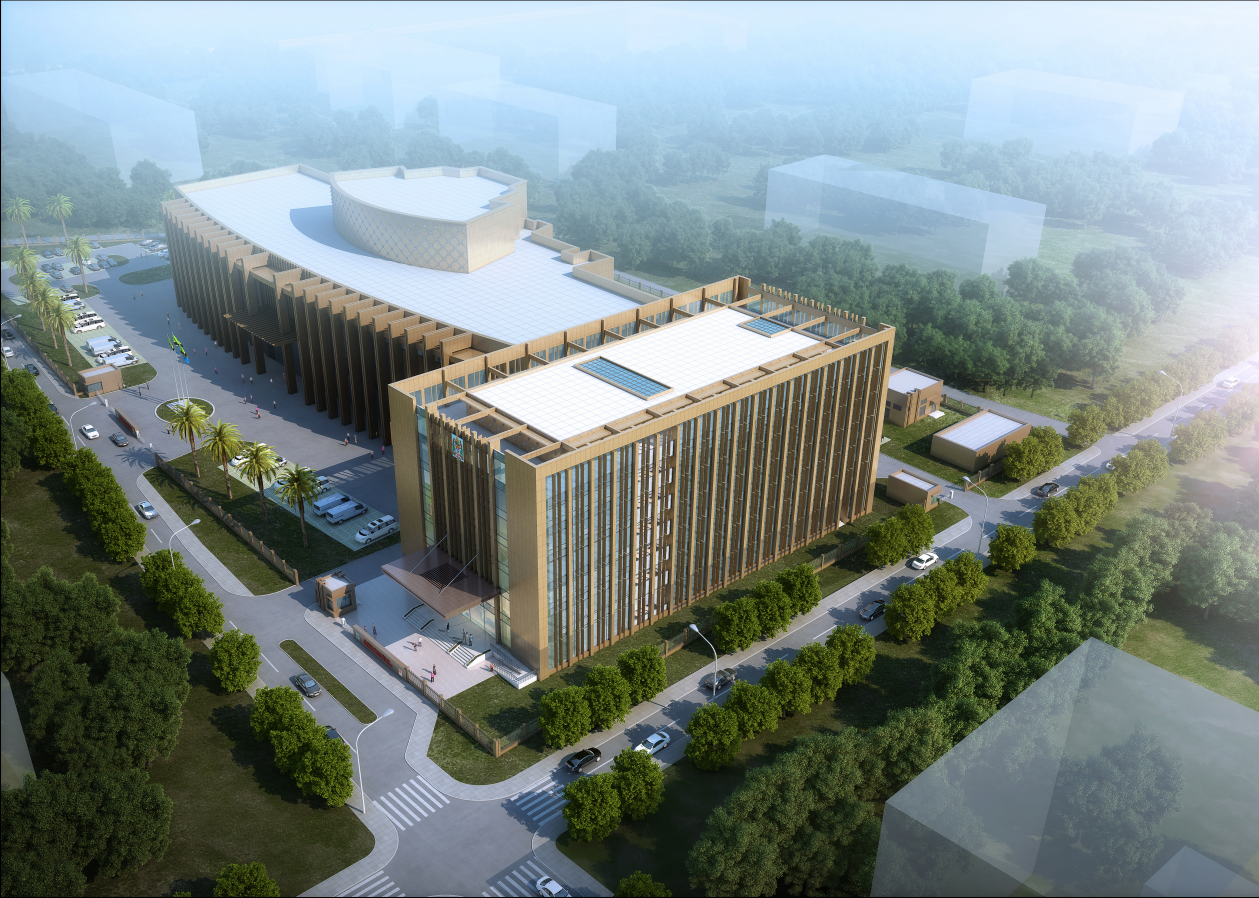 China-Aid Project of Office Building for Ministry of Foreign Affairs in Tanzania